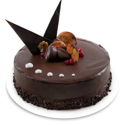 Tort Ciocolată cu Fructe